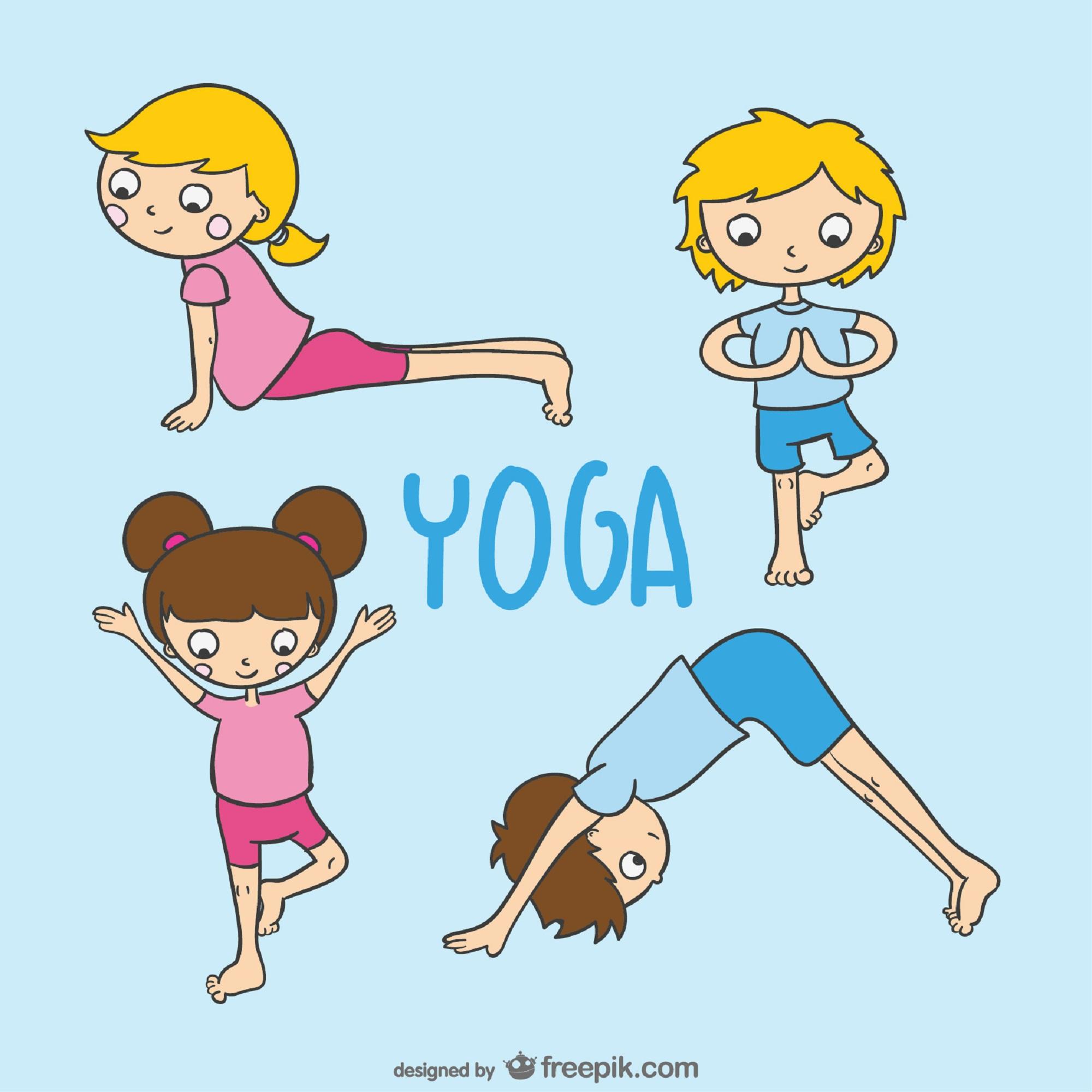 Prática do Yoga com Crianças